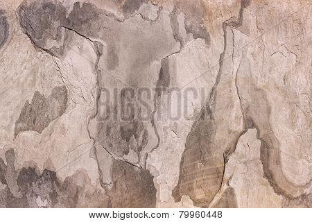 Pattern of a stone slab in beige, gray, brown
