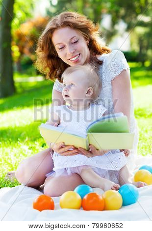 Outdoor Portrait Of Happy Family