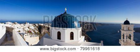 Panorama Of Imerovigli