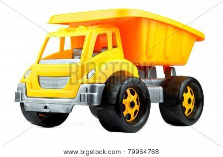Toy Car Isolated