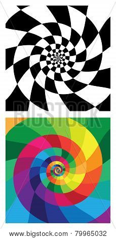 Swirly Vector Backgrounds