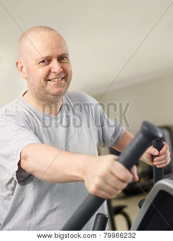 Man In The Gym