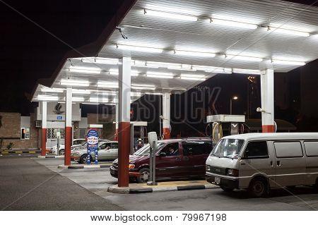 Petrol Station in Kuwait