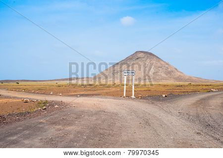 Road To Buracona In Sal Island Cape Verde Cabo Verde