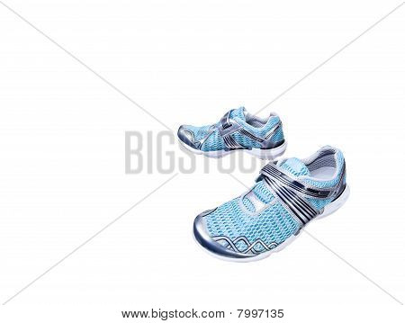 Isolated Sport Shoes