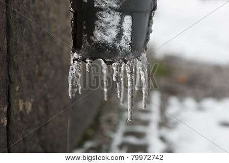 Drippig Icicles