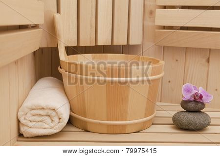 finnish sauna and accessories
