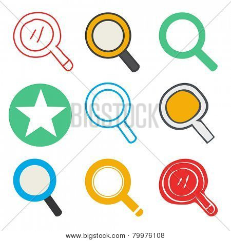 Search Searching Looking For Research Information Vector Concept