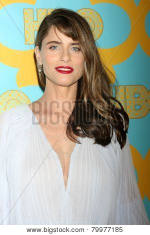 LOS ANGELES - JAN 11:  Amanda Peet at the HBO Post Golden Globe Party at a Circa 55, Beverly Hilton Hotel on January 11, 2015 in Beverly Hills, CA