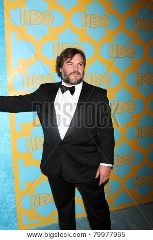 LOS ANGELES - JAN 11:  Jack Black at the HBO Post Golden Globe Party at a Circa 55, Beverly Hilton Hotel on January 11, 2015 in Beverly Hills, CA
