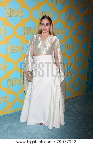 LOS ANGELES - JAN 11:  Jemima Kirke at the HBO Post Golden Globe Party at a Circa 55, Beverly Hilton Hotel on January 11, 2015 in Beverly Hills, CA