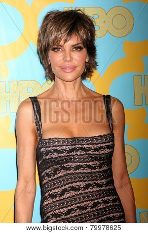 LOS ANGELES - JAN 11:  Lisa Rinna at the HBO Post Golden Globe Party at a Circa 55, Beverly Hilton Hotel on January 11, 2015 in Beverly Hills, CA