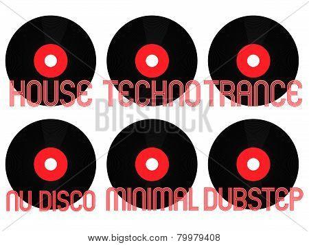 Electronic Music Genres Vinyl 2