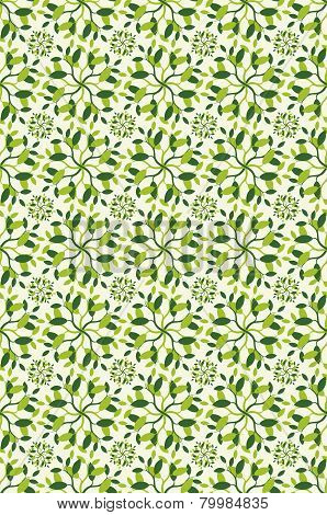 Leafy Green Nature Background