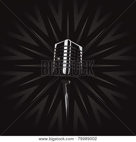 Classic Retro Microphone