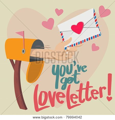 You Have Got Love Letter!