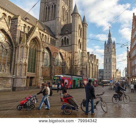 Gent. Cyclists.
