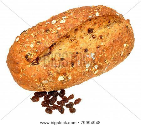 Raisin And Muesli Bread Loaf