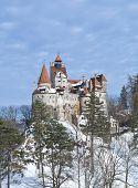 stock photo of dracula  - Bran Castle  - JPG