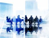 stock photo of seminars  - Business People Meeting Conference Seminar Sharing Strategy Concept - JPG