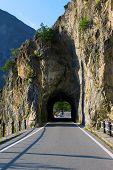 picture of italian alps  - the streamer in the Italian Alps - JPG