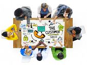 picture of efficiencies  - The Customer Service Target Market Support Assistance Concept - JPG