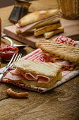 pic of churros  - Quick dinner toast with ham and cheese  - JPG
