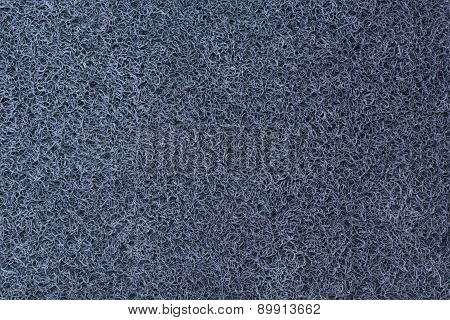 Doormat Background In Blue
