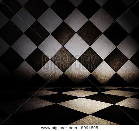 Tiled Interior