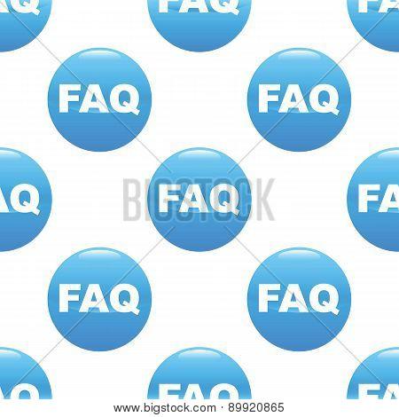 FAQ sign pattern