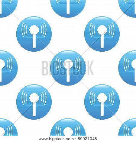 Wireless signal sign pattern