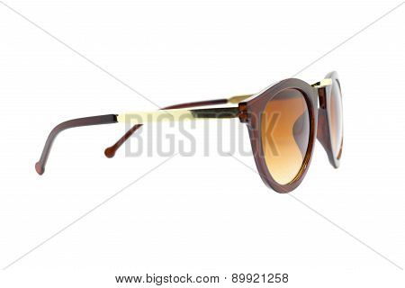 Isolated Sun Glasses.