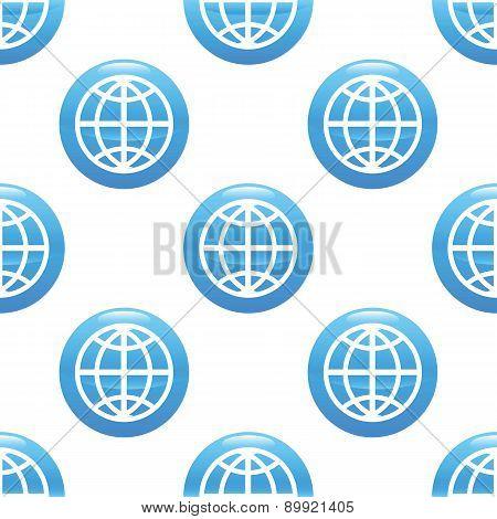 Globe sign pattern