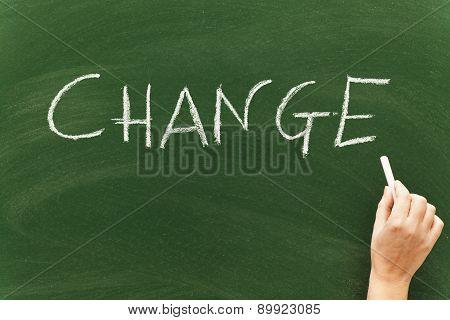 Change On Blackboard