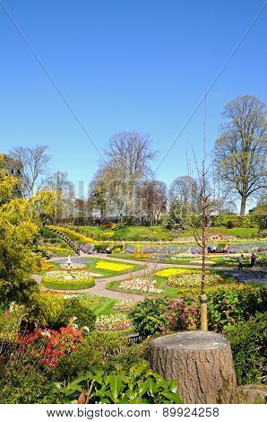 The Dingle Gardens, Shrewsbury.