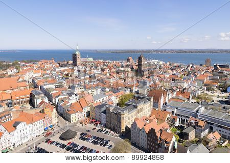 View To Stralsund