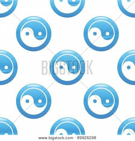 Yin and yang sign pattern