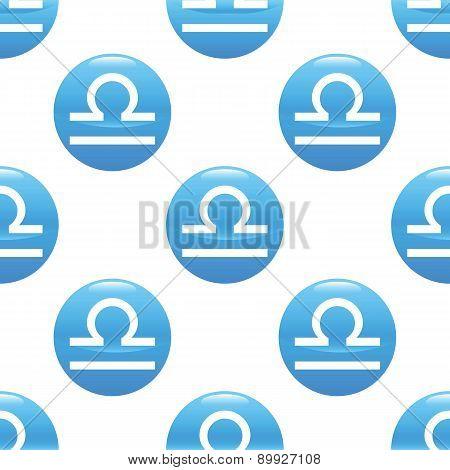 Libra sign pattern