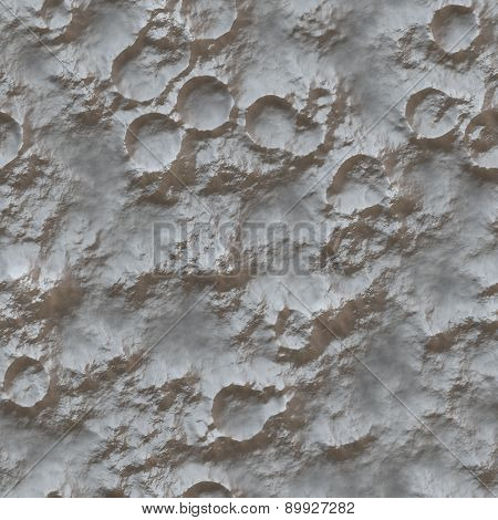 Planet Surface Generated Texture