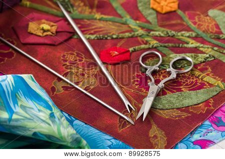 Special Tools For Fabric Applique