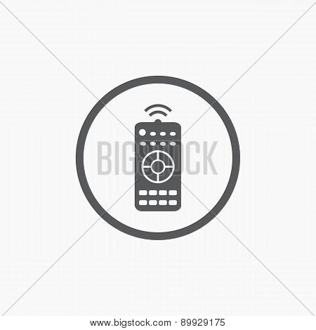 Remote Control Simple Flat Icon
