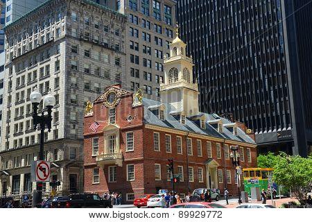Old State House, Boston, MA, USA