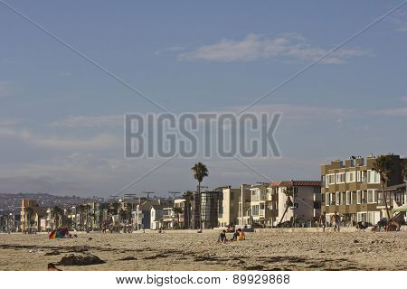 Mission Bay Beach In San Diego