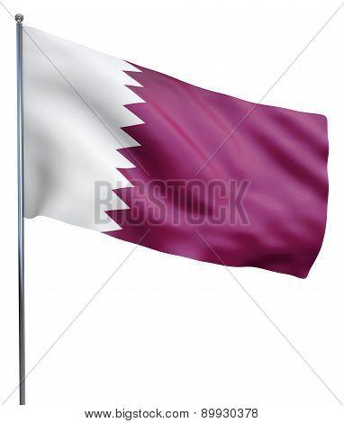 Qatar Flag Image