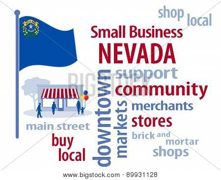 Small Business Nevada, The Silver State Flag