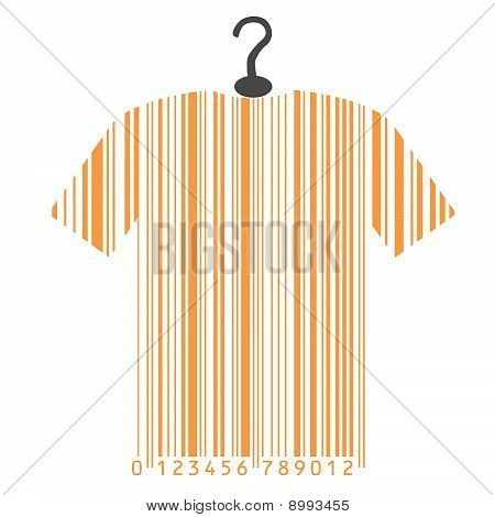 shirt as barcode