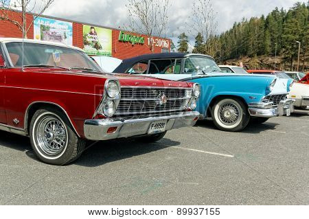 Fords In Different Colors