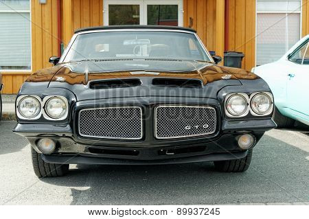 Pontiac Gto In Black