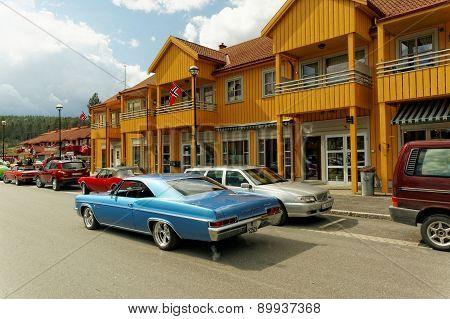 Chevrolet In Blue
