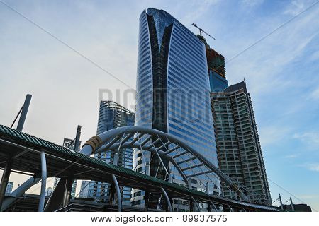 Business Area , Architecture Style In  City  Bangkok